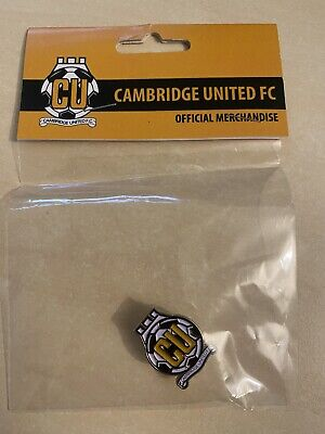 £5 • Buy CAMBRIDGE UNITED FC Club Crest Type Badge Brooch Pin In Sealed
