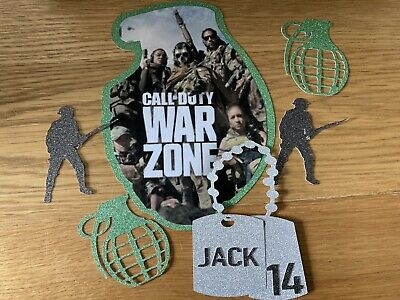 £7.20 • Buy Call Of Duty Cod War Zone War Army Game Cake Topper Toppers Set