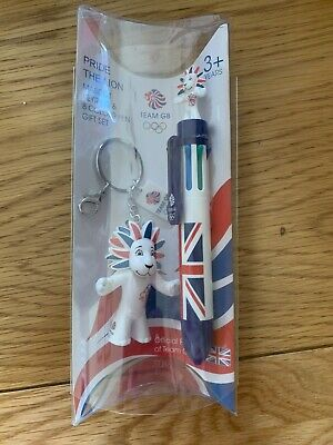 £7.49 • Buy Official Product Of London 2012 Olympics Mascot Keyring & 8 Colour Pen Gift Set
