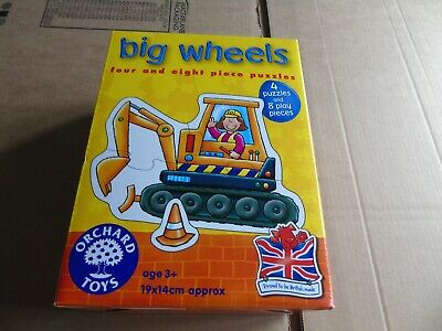 £4 • Buy Orchard Toys Big Wheels Puzzles