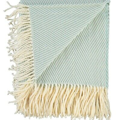£25.90 • Buy CUPCAKES & CASHMERE Mint Green Stripe Throw