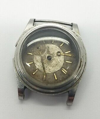 $ CDN1.47 • Buy Zenith Army Cal. 106 Vintage Manual Winding Wristwatch For Parts Or Project