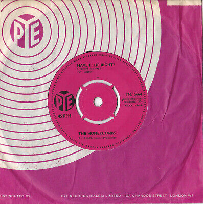 £6.85 • Buy The Honeycombs -Have I The Right? / Please Don't Pretend Again- 7  45 Pye