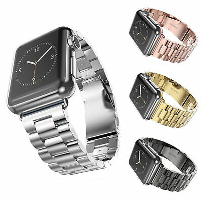 $ CDN4.91 • Buy For IWatch Apple Watch Series 4/3/2/1 Watch Metal Band Strap Adjustable 38/42mm