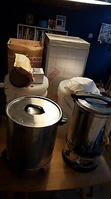 £100 • Buy Used Home Brew Equipment - Kettles, Fermenters, Chiller, Hop Spider
