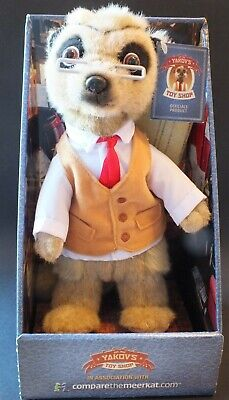 £0.99 • Buy Compare The Meerkat Toy Yakov - Toyshop Owner