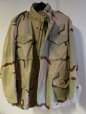 $49.99 • Buy Large Long DCU Army Military Field Jacket M65 Coat Cold Weather Desert