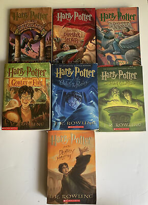 $ CDN48.40 • Buy Harry Potter Series Paperback Set Of Books 1-7 Book Are All In Used Condition