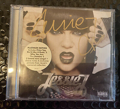 """£20 • Buy Authentic Signed CD """"Who You Are"""" Jessie J Platinum Edition & Photo"""