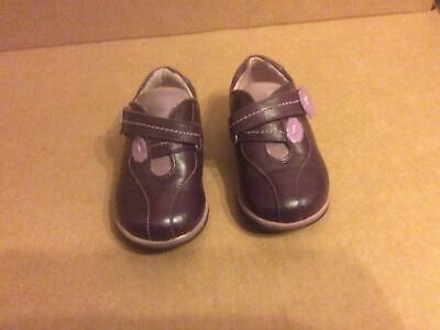 £12 • Buy Startrite Girls Smoothie Purple Leather Shoes Size 5G Used