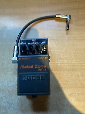 $ CDN59.99 • Buy Boss MT-2 Metal Zone Distortion Guitar Effects Pedal Untested