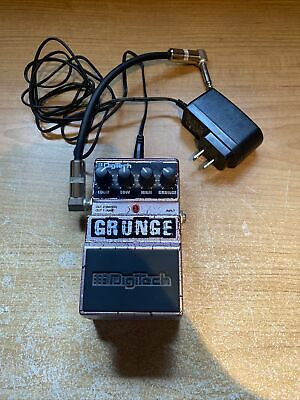 $ CDN59.99 • Buy DigiTech Grunge Distortion Guitar Effects Pedal