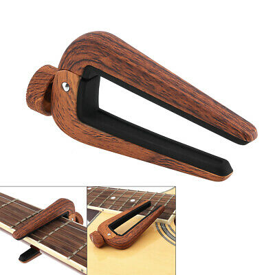 $ CDN10.50 • Buy Quick Change Clamp Key Acoustic Classic Guitar Capo Adjust Pitch Personalized