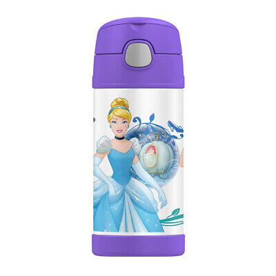 AU21.95 • Buy THERMOS FUNTAINER® WATER BOTTLE 355ML Disney Princess