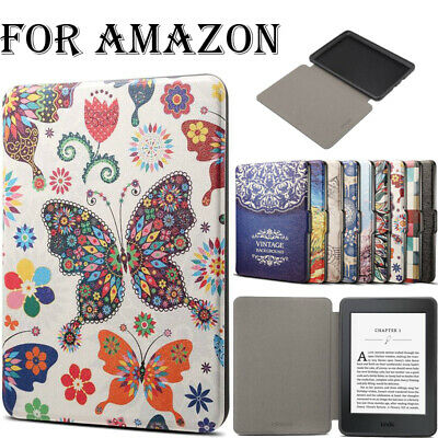 AU12.29 • Buy PU Leather Case For Amazon Kindle Paperwhite 1 2 3 4 10th Gen E-reader Oasis 2