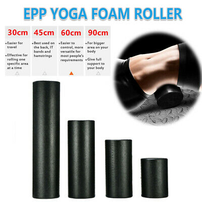 AU19.85 • Buy Pilates Foam Roller Building With Trigger Points Fitness Equipment Yoga Block