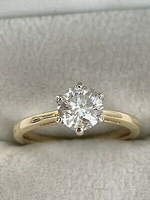 £950 • Buy 18ct Gold Diamond Solitaire Ring 0.80 Carat Good Overall Condition