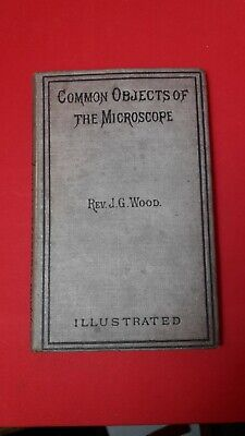 £15 • Buy Antique  Common Objects Of The Microscope  Collectable Book J G Wood 1885