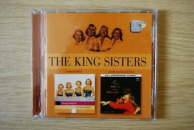 £2.99 • Buy The King Sisters - Imagination / Warm And Wonderful CD 8669042