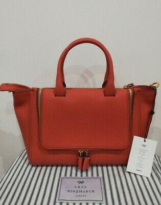 £395 • Buy RRP £995 - Anya Hindmarch Leather Vere Tote Bag - NEW