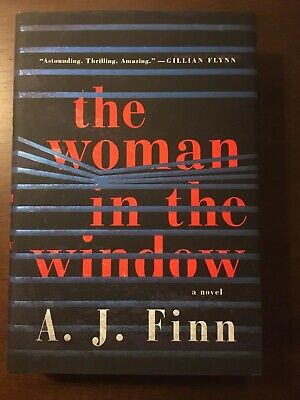 AU87.57 • Buy THE WOMAN IN THE WINDOW By A. J. Finn Signed Hardcover 1st Edition/1st Printing