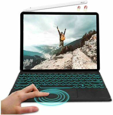AU65.79 • Buy For IPad Pro 12.9  5th Gen 2021 Keyboard Case Backlight With Touchpad Keyboard