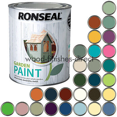 £12.91 • Buy Ronseal Garden Paint Various Colours For Outdoor Exterior Wood - 2.5L - FREE DEL