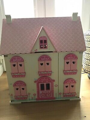 £50 • Buy ELC Rosebud Doll's House With Furniture & Accessories
