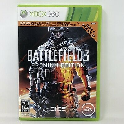 £7.26 • Buy Battlefield 3 Premium Edition Microsoft Xbox 360 Video Game Complete Tested