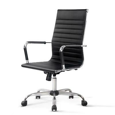 AU101.95 • Buy Artiss Gaming Office Chair Computer Desk Chairs Home Work Study Black High Back