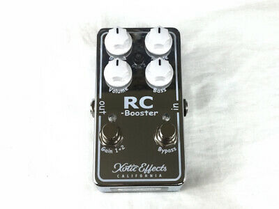 £107.29 • Buy Used Xotic Effects RC Booster V2 Guitar Effects Pedal