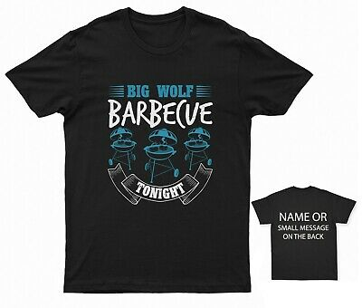 £11.95 • Buy Big Wolf Barbecue Tonight T-shirt Bbq Barbeque