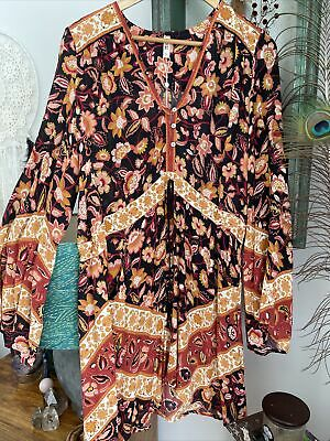 AU210 • Buy Spell Lolita Playdress In Rust New Without Tags XL