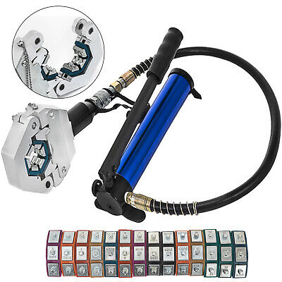 £94.49 • Buy Separable Hydraulic Hose Crimper 7 Dies Air Condtioning Hand Crimping Set