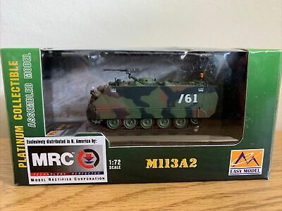 $15 • Buy Easy Model 1/72 US Army M113A2 Armored Personnel Carrier Fighting Vehicle #35006