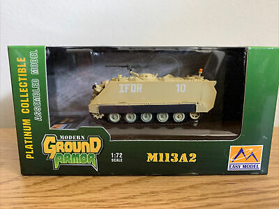 $12 • Buy Easy Model 1:72 M113A2 Armor Personnel Carrier US Army IFOR #10 (#35009)