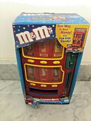 $39.99 • Buy M&M'S FUN SIZE CANDY VENDING BANK~CDI 88750 ~Twix, Milky Way, Skittles, Snickers