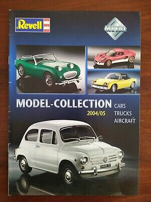 £5 • Buy Revell Die-cast Collection 2004»2005 Catalogue Cars Aircraft Trucks