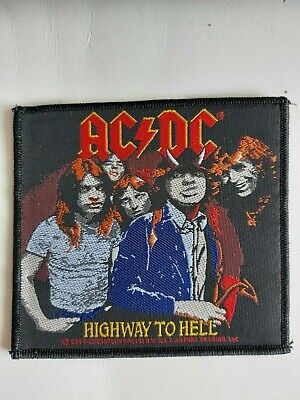 £3.50 • Buy Official AC/DC Sew On Embroidered Patch NEW No60