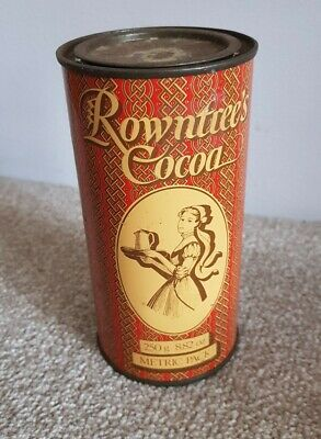 £6.99 • Buy Vintage Rowntree Cocoa Tin Retro Collectable
