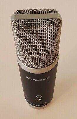 $29.77 • Buy M-Audio Producer USB Microphone Black Audio Mic For Recording, Audio Streaming