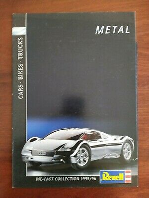 £5 • Buy Revell Die-cast Collection 1995/96 Catalogue Cars Bikes Trucks