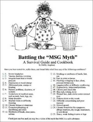 $ CDN22.89 • Buy Battling The MSG Myth - Plastic Comb By Debby Anglesey - GOOD