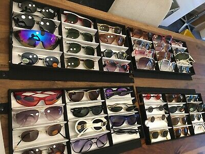 £312.92 • Buy 48 X Vintage Mixed Lot Collection Lot Ray Ban Aston Martin Lagerfeld Silhouette