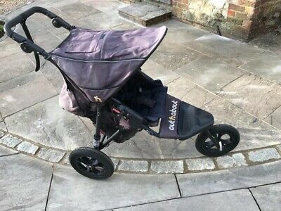 £140 • Buy Out N About Nipper Single V4 Pushchair With Polar Fleece Shower Proof Foot Muff