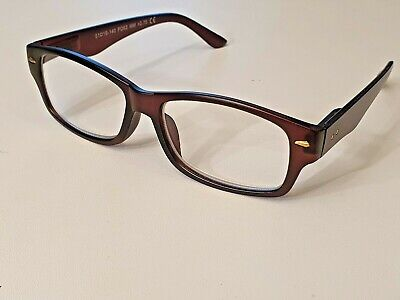£5.99 • Buy FGX By Foster Grant - Hugo  Brown Or Black - Reading Glasses With Sprung Hinges.