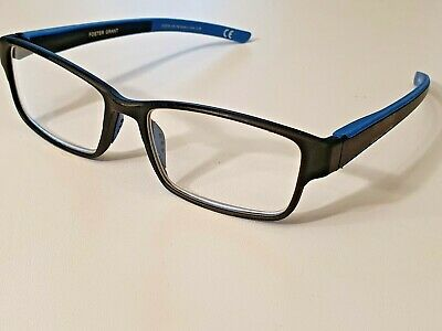 £5.99 • Buy Foster Grant - Carmelo Navy  - Reading Glasses With Sprung Hinges +2.25 BNWT