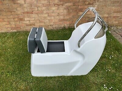 £750 • Buy Jockey Seat Console For Rib Boat With Screen And Stainless Grab Rail