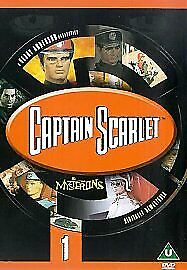 £3.49 • Buy Captain Scarlet And The Mysterons: 1 [DVD] [1967] - DVD  Vgc The Cheap Fast
