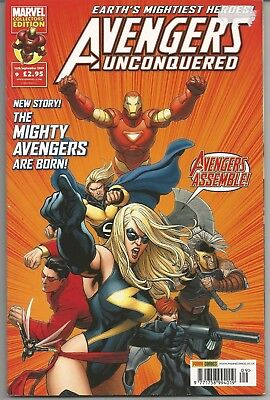 £6.95 • Buy Avengers Unconquered #9 : September 2009 : Ms Marvel On Cover
